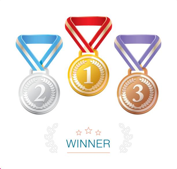 Royalty Free Medal Podium Clip Art, Vector Images ...