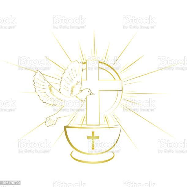 Gold simple and classy baptism symbols invitation vector id916176720?b=1&k=6&m=916176720&s=612x612&h=kbtcyd2pdkbk77rp39jbwe1hzqvwstjljdfoichzuuo=