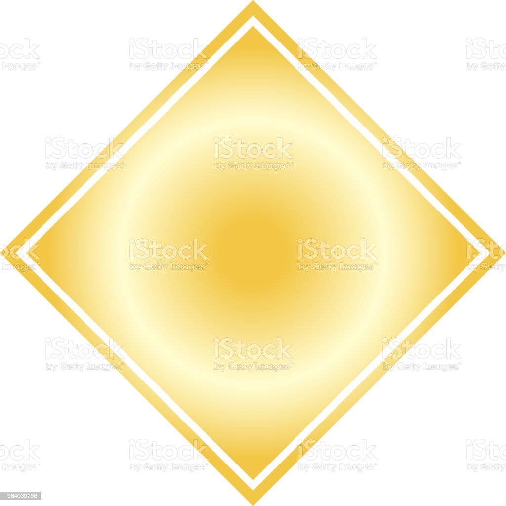 Gold Square celebration paper - Royalty-free Abstract stock vector