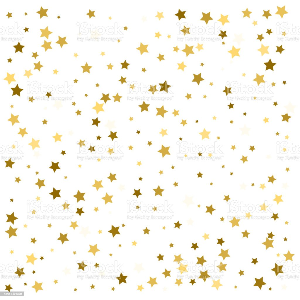 Gold stars. Confetti celebration, Falling golden abstract decoration for party, birthday celebrate, anniversary or event, festive. Festival decor. Vector illustration royalty-free gold stars confetti celebration falling golden abstract decoration for party birthday celebrate anniversary or event festive festival decor vector illustration stock vector art & more images of abstract