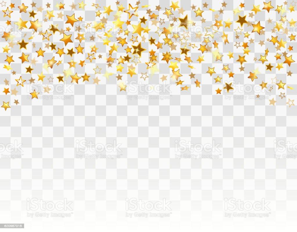 Gold stars Holiday background ilustração de gold stars holiday background e mais banco de imagens de abstrato royalty-free