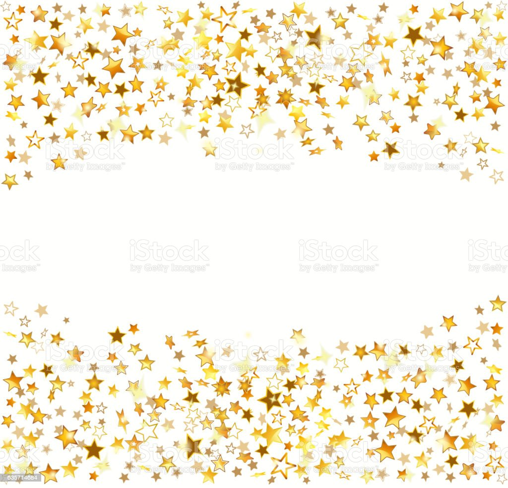 Gold stars Holiday background royalty-free gold stars holiday background stock vector art & more images of backgrounds