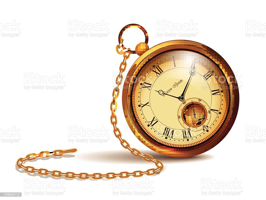 royalty free pocket watch clip art  vector images grandfather clock face clipart grandfather clock clip art free