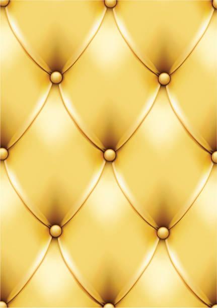 Gold vintage leather pattern vector art illustration
