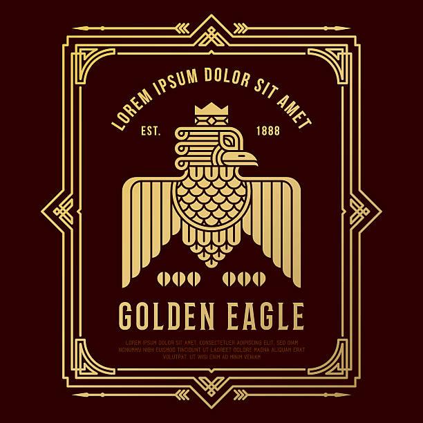 GoldEagle - ilustración de arte vectorial
