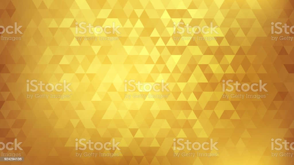 Golden abstract background - arte vettoriale royalty-free di Astratto