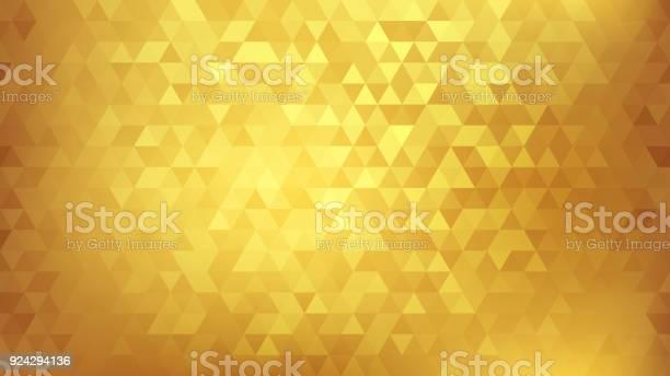 Golden Abstract Background - Immagini vettoriali stock e altre immagini di Astratto