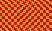 Golden and red Japanese pattern Chidori swastika
