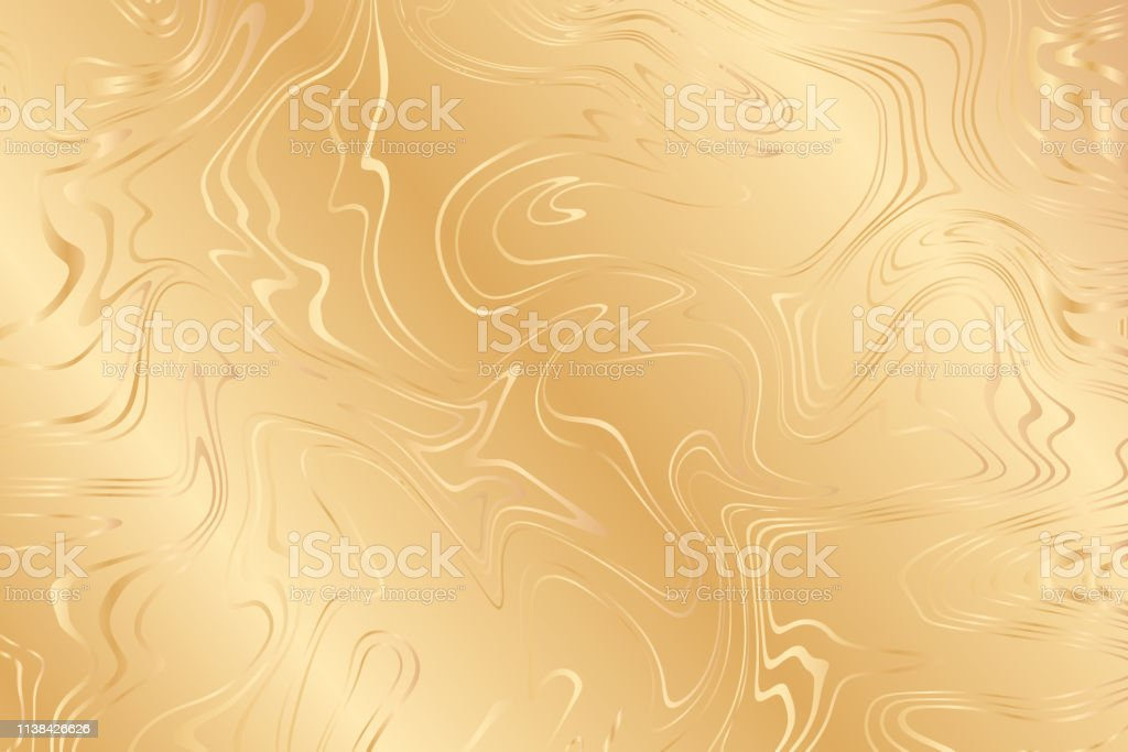 Golden Background For Party Invitation Web Banner Birthday