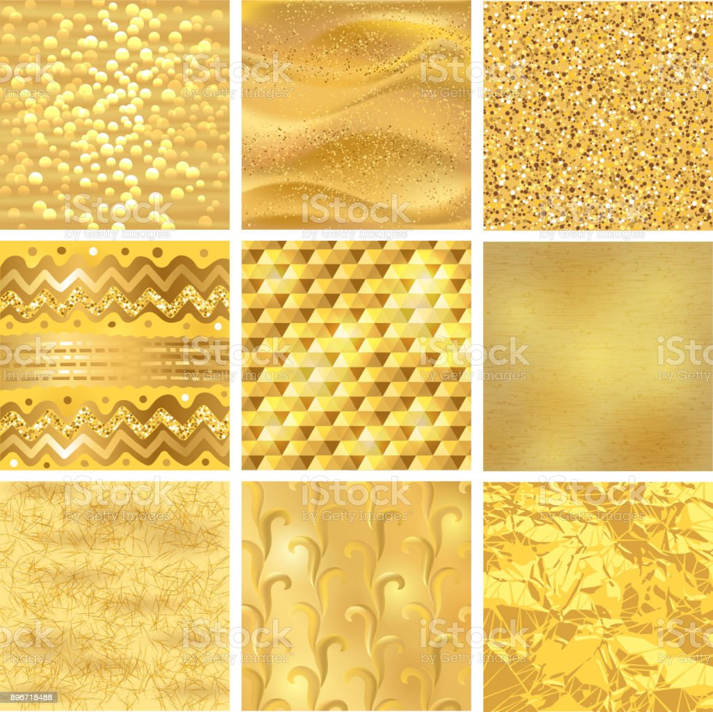 golden background or gold texture vector pattern for luxury textured