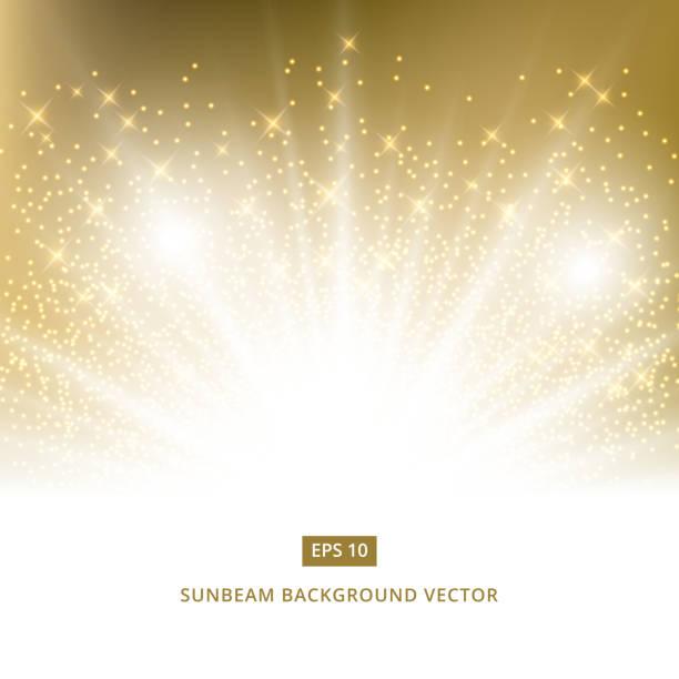 ゴールドラメ ベクトルと黄金背景サンビーム - 特別な日点のイラスト素材/クリップアート素材/マンガ素材/アイコン素材
