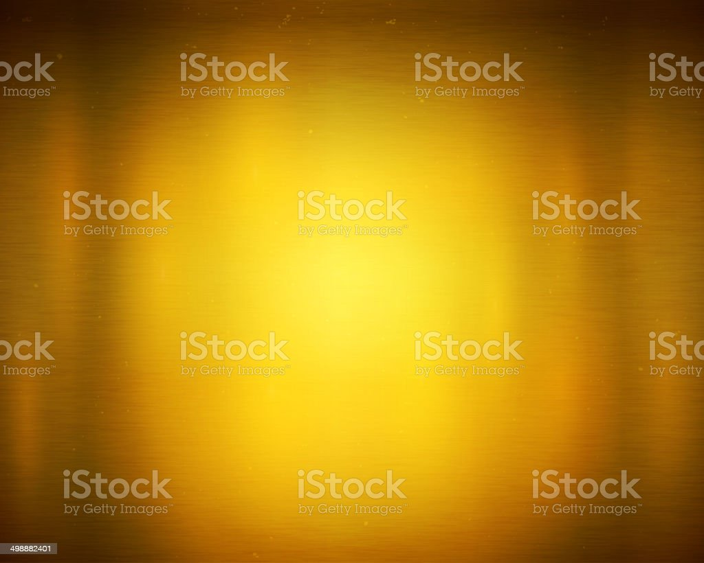 Golden background vector art illustration