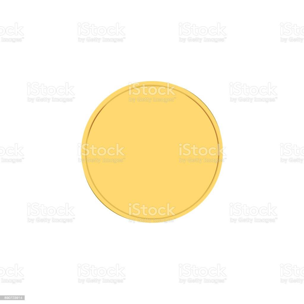 Golden badge vector vector art illustration