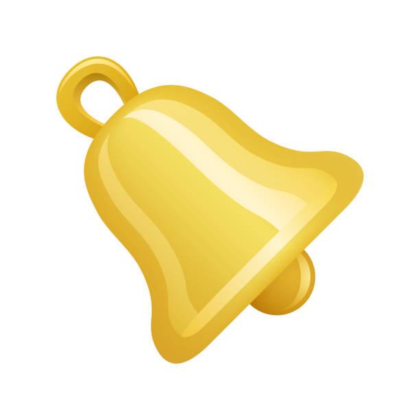 golden bell - novo icons - kirchenschmuck stock-grafiken, -clipart, -cartoons und -symbole