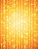golden brightnes illustration suitable for christmas or disco background