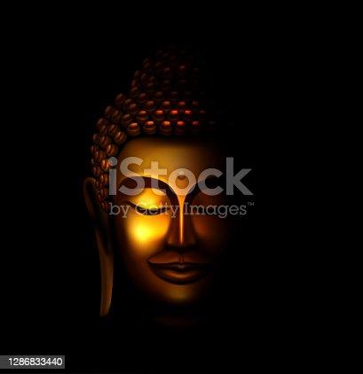 istock Golden Buddha 1286833440