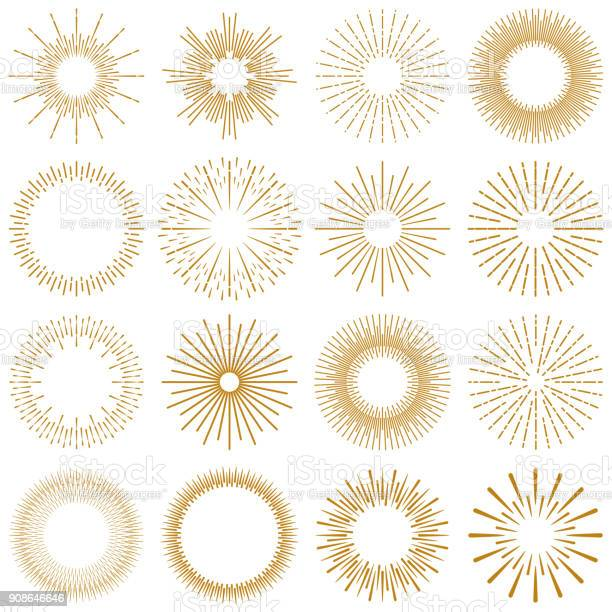 Golden burst rays collection vector id908646646?b=1&k=6&m=908646646&s=612x612&h=q1odmnvepljcjrqbupn5 vnruq5xssbw9apnzkivdxc=