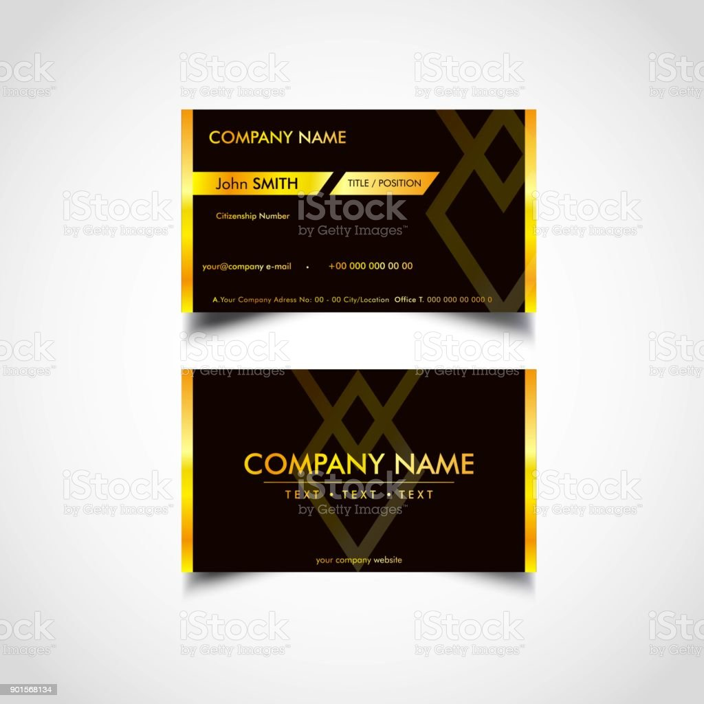 Golden business card template us size eps file stock vector art golden business card template us size eps file royalty free golden business card friedricerecipe Choice Image