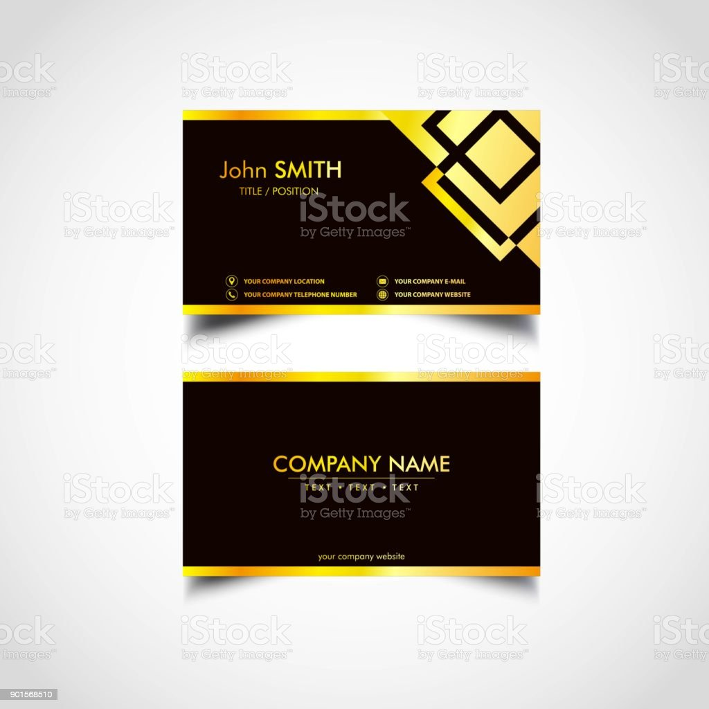 Golden business card template us size eps file stock vector art golden business card template us size eps file royalty free golden business card cheaphphosting Gallery