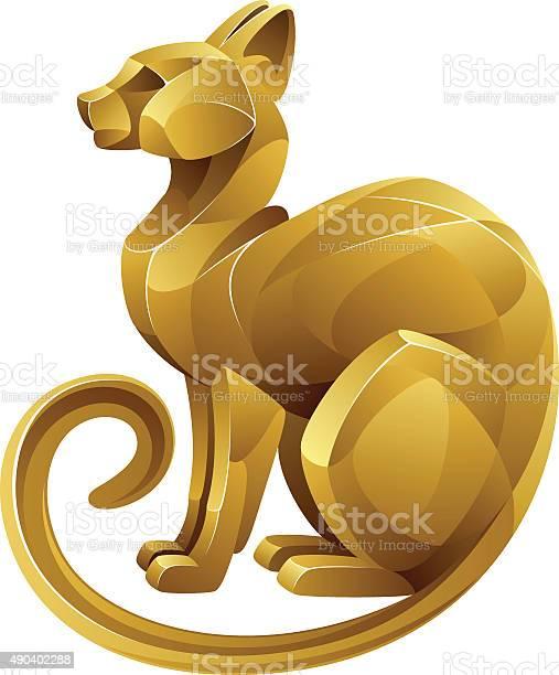 Golden cat vector id490402288?b=1&k=6&m=490402288&s=612x612&h=u5k ettve qswm58hypxeuhf3 hpsmhqpxdvh czmyw=
