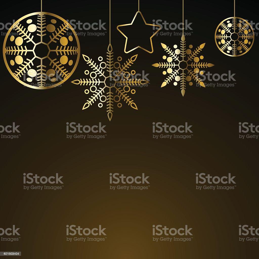 Decorazione di Natale dorato decorazione di natale dorato - immagini vettoriali stock e altre immagini di a forma di stella royalty-free