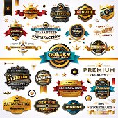 Golden Commerce Labels - Megaset (Light)