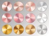 istock Golden conical gradients 812501554