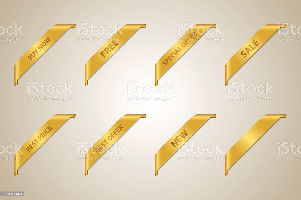 Golden Corner Ribbon Collection