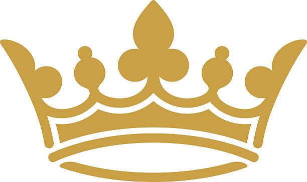 Corona de oro - ilustración de arte vectorial