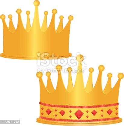 istock Golden Crowns 125911735