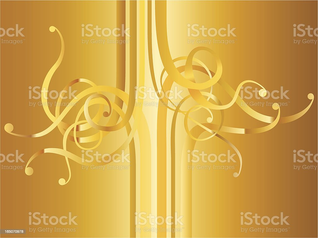Golden Curls royalty-free golden curls stock vector art & more images of abstract