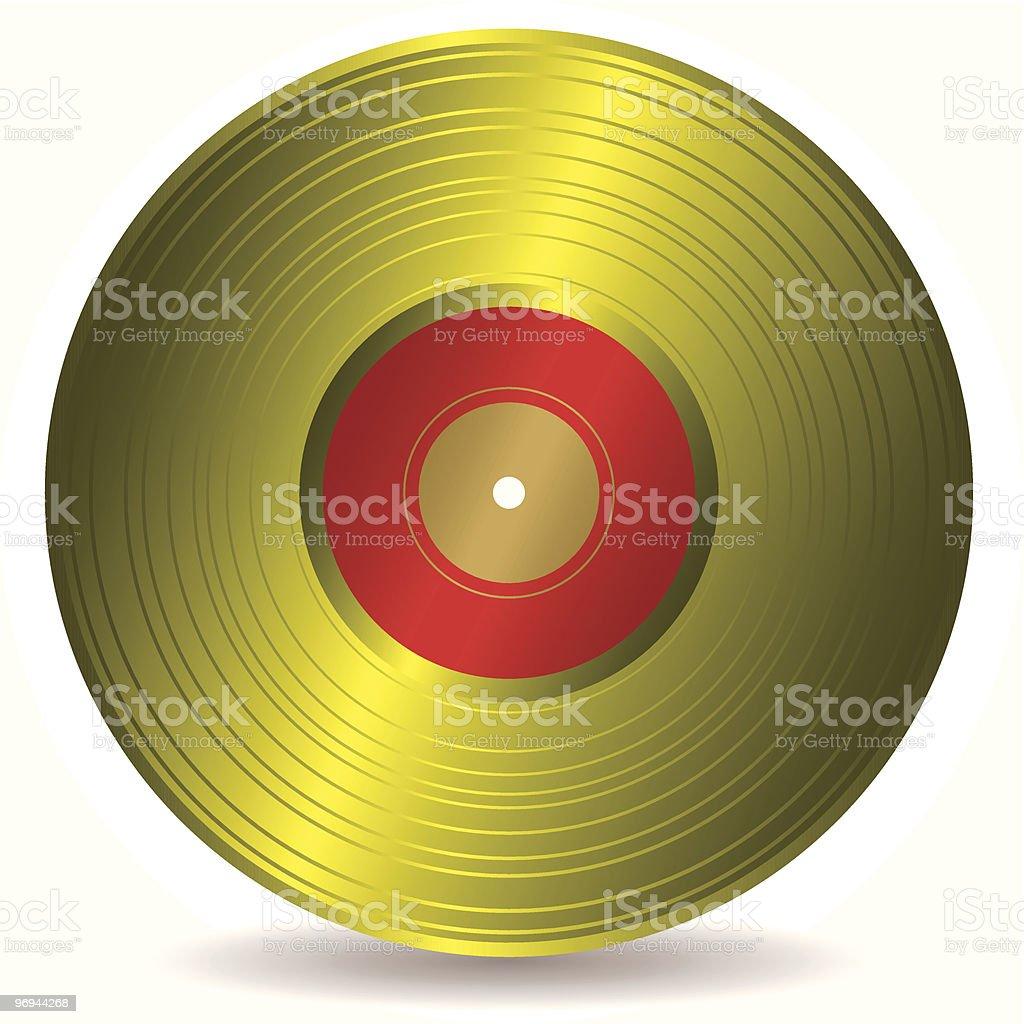 golden disc record album royalty-free golden disc record album stock vector art & more images of achievement