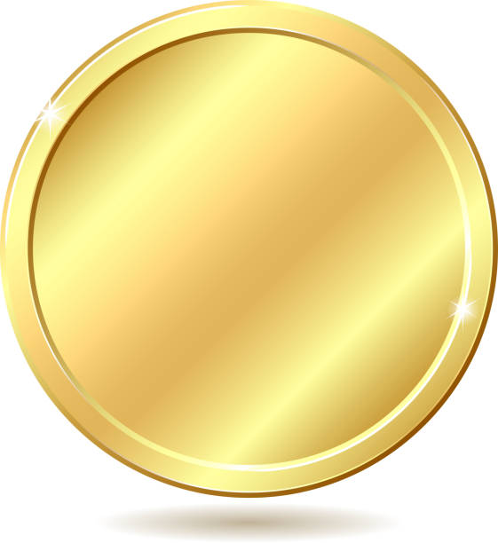 Royalty Free Gold Coin Clip Art, Vector Images ...