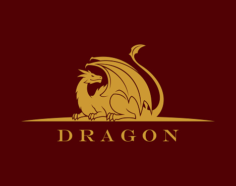 Golden Dragon silhouette