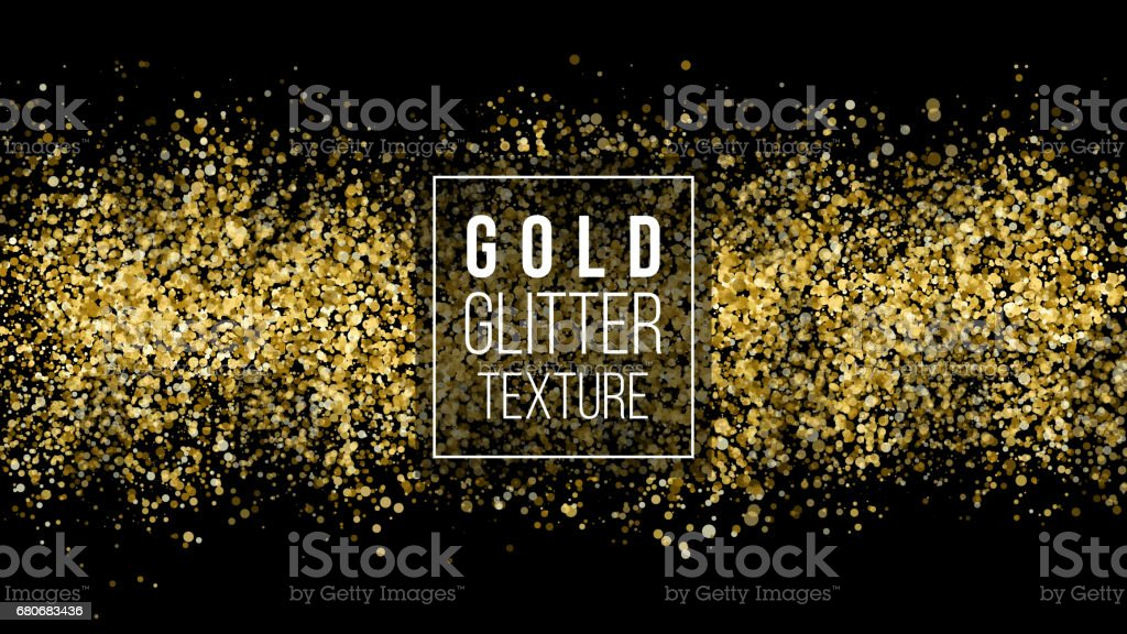 golden dust explosion glitter confetti great for wedding invitations party posters christmas