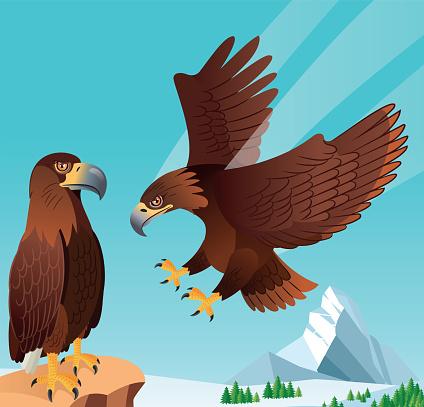 Golden Eagle and Matterhorn