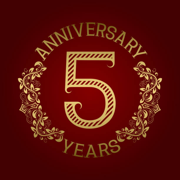 Royalty free th anniversary clip art vector images