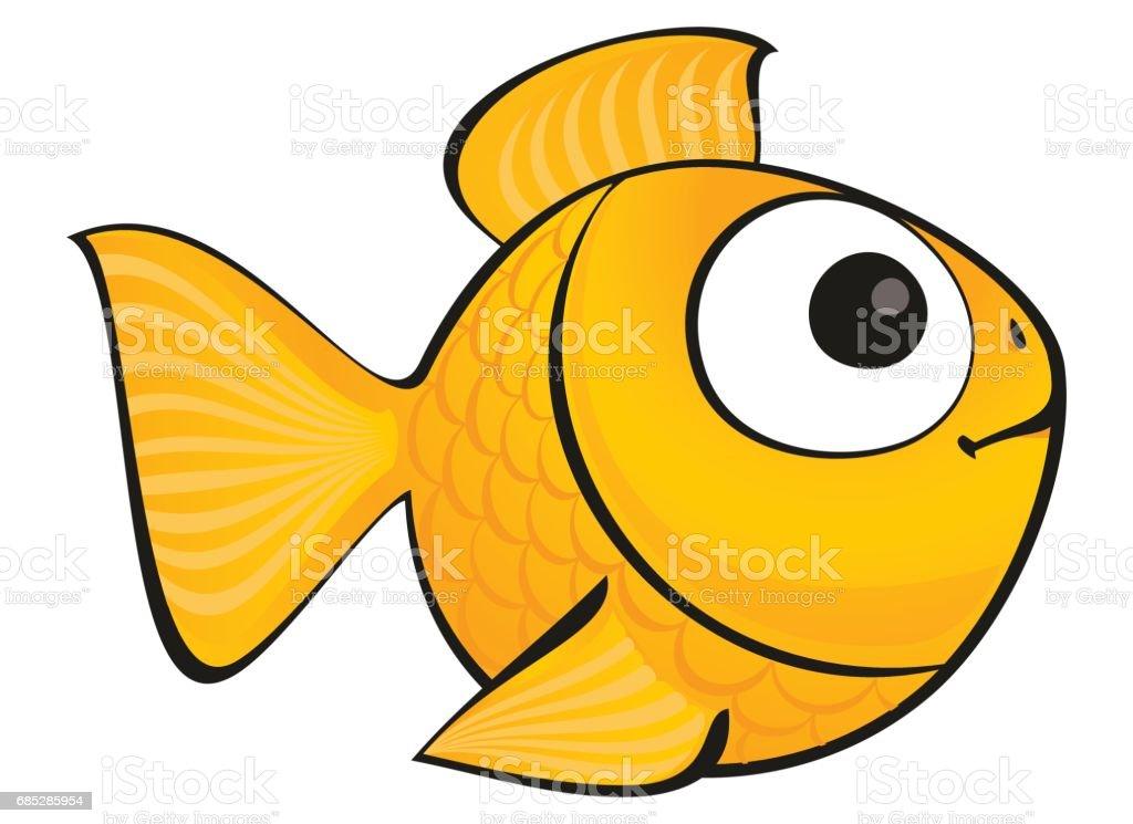 royalty free goldfish clip art vector images illustrations istock rh istockphoto com goldfish clipart png goldfish bowl clipart