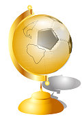 golden football globe