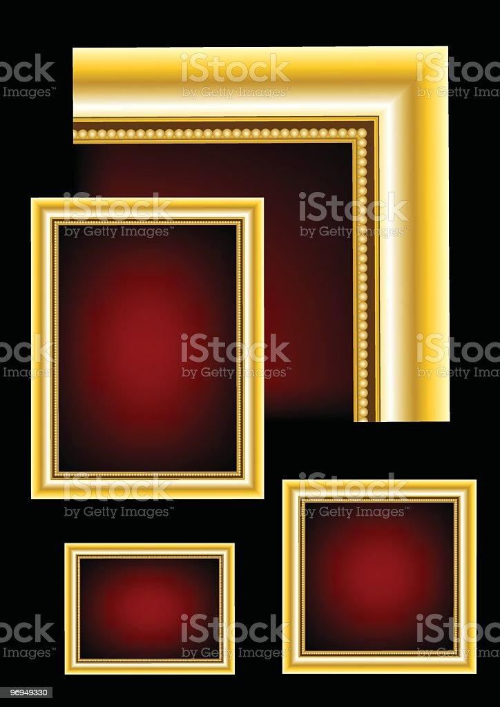 Golden Frame royalty-free golden frame stock vector art & more images of antique