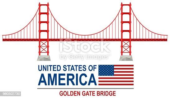 istock Golden gate bridge america 980502730