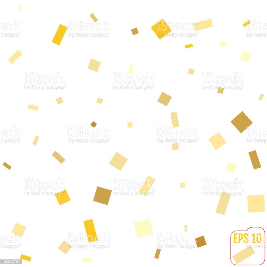 Golden glitter frame background. vector illustration royalty-free golden glitter frame background vector illustration stock vector art & more images of abstract