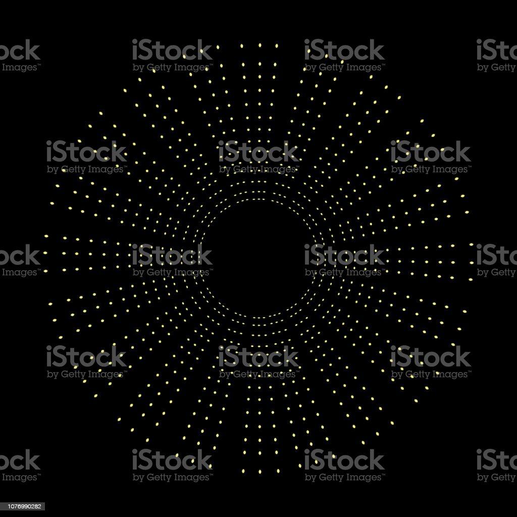 金色の光輪円、天使、聖人はリング デザイン要素です。聖人の後光、変成帯や栄光、gloriole と表示のサイン。タトゥーの参照。ベクトル。 ベクターアートイラスト