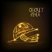 Golden helmet for Cricket Fever.