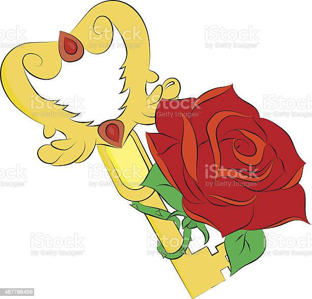 Golden key and red rose isolated on white background vector id487786459?b=1&k=6&m=487786459&s=612x612&h=l7gjoic0kfieeqphfwa24grxj9nbfgrh2rzy0lx3xt8=