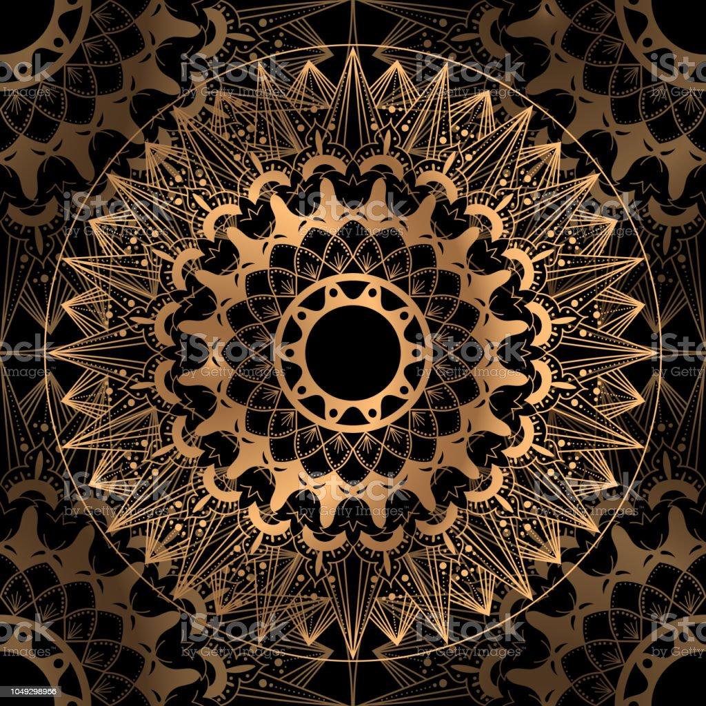 Golden Luxus Hintergrund Vektor Goldene Hochzeit Schwarz