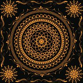 Beautiful Golden Mandala Design.Please visit my lightboxes.http://i1217.photobucket.com/albums/dd384/vinumar/9.jpg?t=1291541817