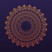 golden mandala symbol healing union
