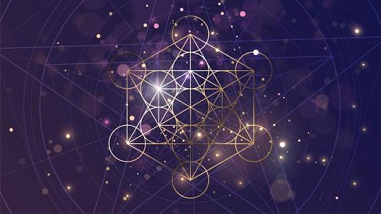 Golden Metatron's Cube