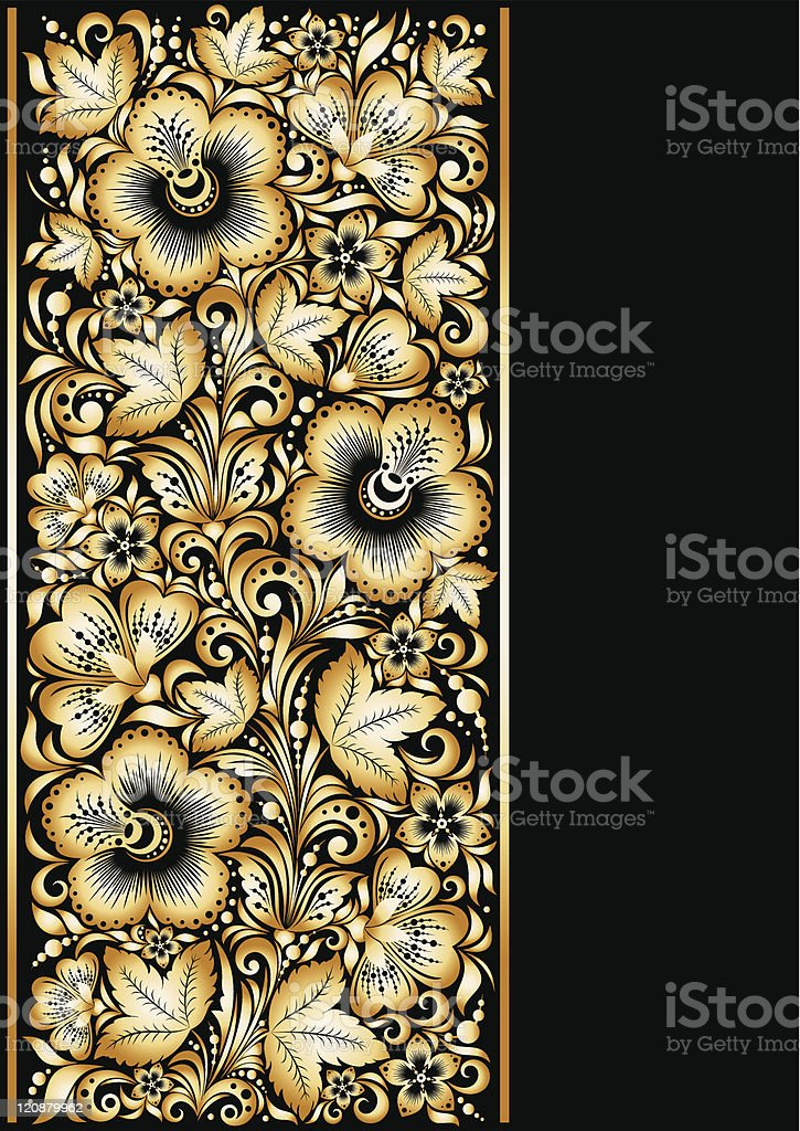 Golden ornamental background royalty-free golden ornamental background stock vector art & more images of backgrounds